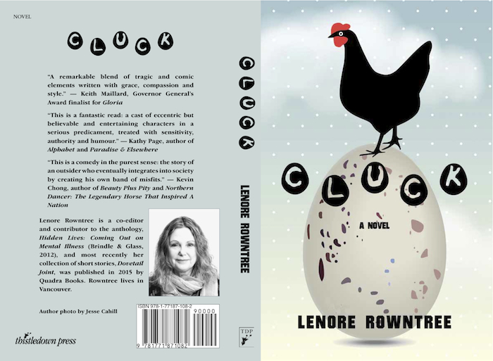 Cluck, a novel by Lenore Rowntree